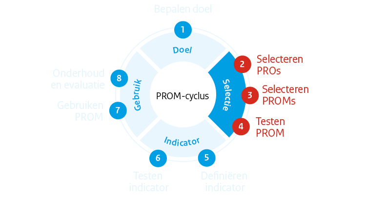 PROM-cyclus fase 2: Selectie